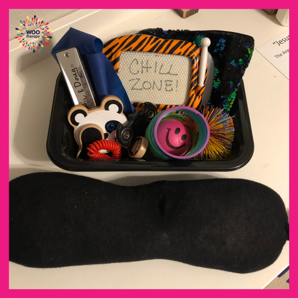 Example of a self-regulation tool box