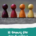 A blog sharing 10 Games for Handwriting Practice