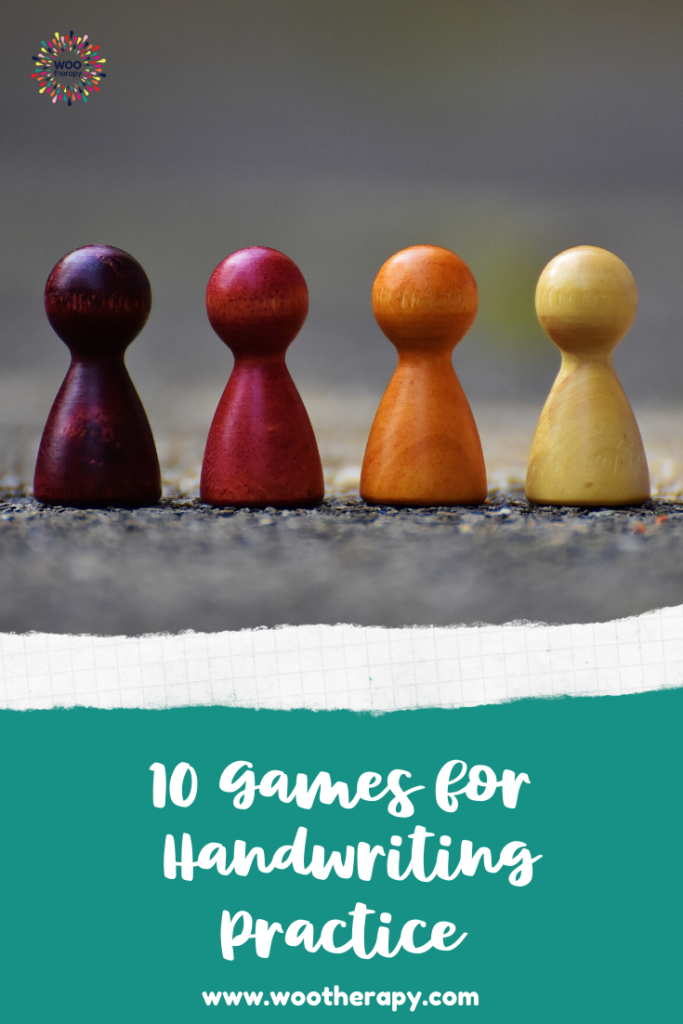 10 Games for Handwriting Practice