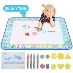 Great activity to get older children involved in tummy time (prone) activity for upper extremity and core strengthening/stability. Also a great alternative to pencil/paper tasks!
