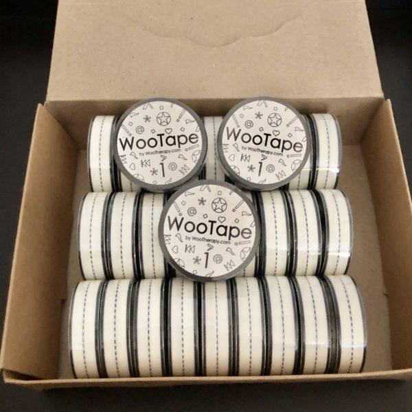 WooTape 1 bulk order of 30 rolls of adaptive handwriting tape.