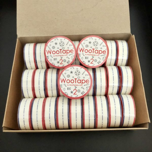 WooTape 2 bulk order of 30 rolls of adaptive handwriting tape.