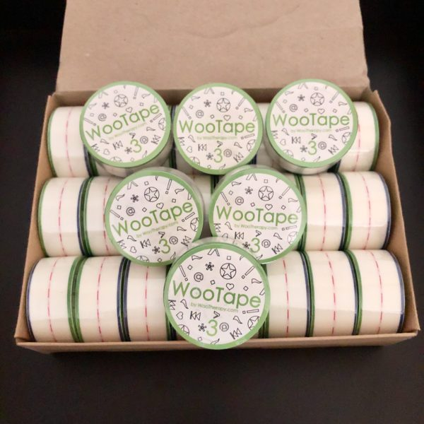 WooTape 3 bulk order of 30 rolls of adaptive handwriting tape.