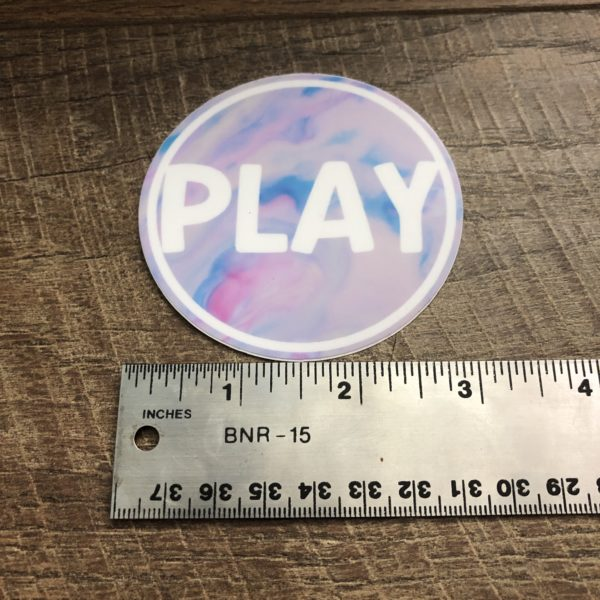 OT Stickers - PLAY