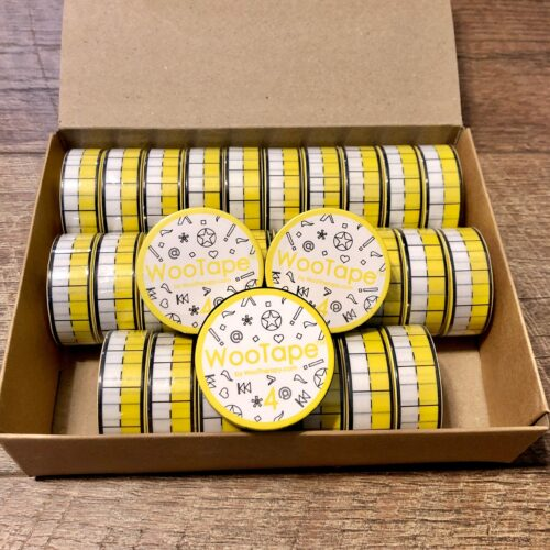 30 rolls of WooTape 4 included in the Bulk