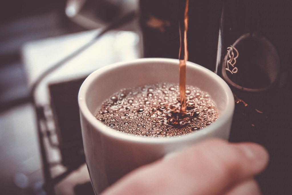 Do you drink coffee in the morning or throughout the day to increase your arousal level?