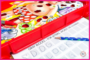 Operation is a highly motivating game for children so it is not difficult to require some simple handwriting while playing it.