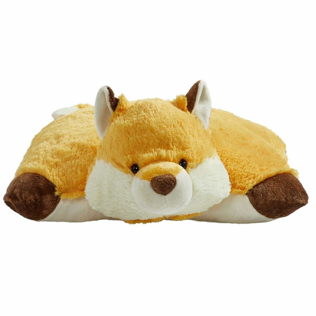 A pillow pet can provide deep pressure which is a calming, organizing, and regulating sensory input.