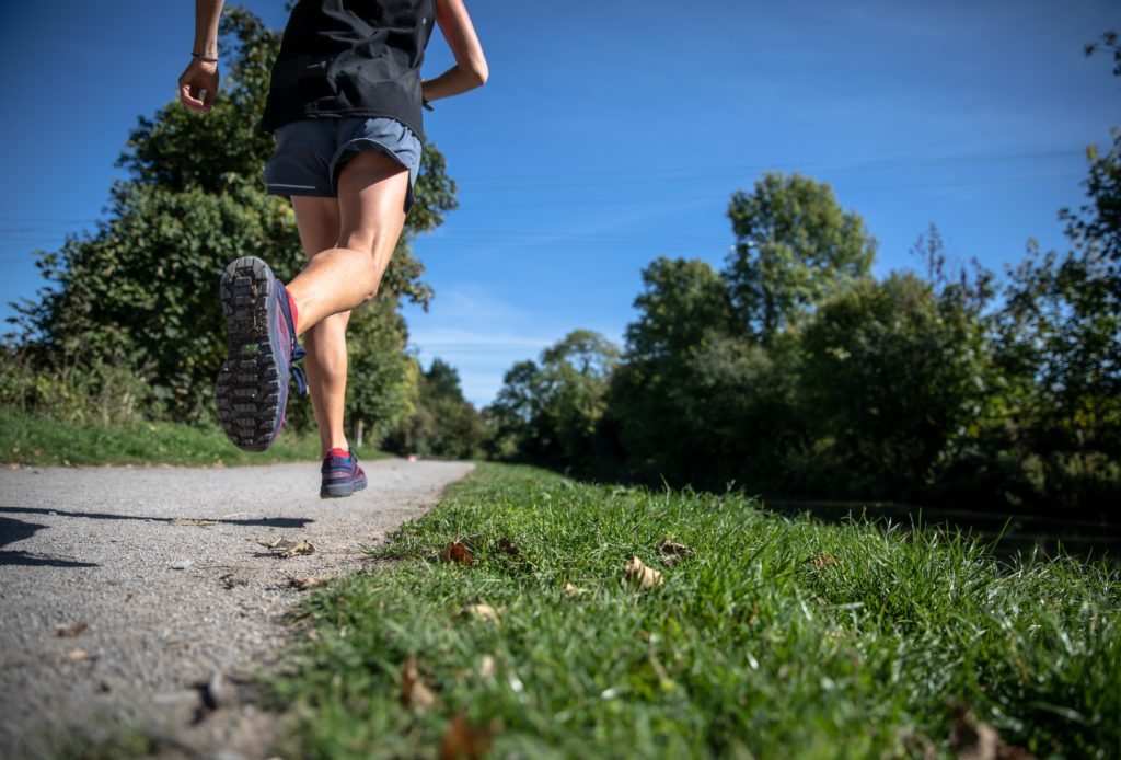 Running is an activity that many people do to relieve stress and self-regulate.