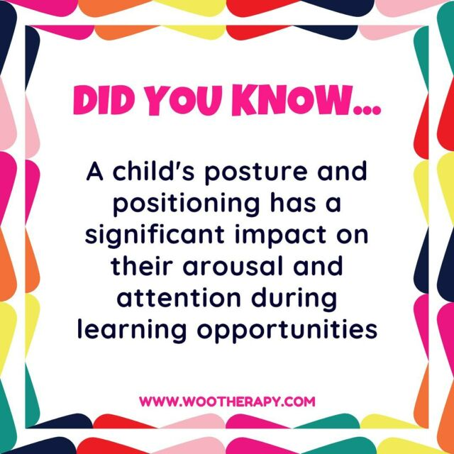 *TEACHERS* As you prepare for your 1st Day of School and think about all the amazing littles that will be entrusted to you for the next 180 days of awesomeness…do not let this idea pass you by.  Posture & Positioning must be addressed! Think of it as my M.I.T…Most Important Tip! As an OT who gets called in to look at nearly 100 kiddos per year, the child's desk and chair (and how they are using them) is the very FIRST thing I notice and suggest modifying, no matter what the concern is.  It's easy to adjust, but more importantly it's EFFECTIVE!  Grab my Desk Check! PDF (in bio @wootherapy) so you can work out the do's and the don'ts as you get ready for all those amazing new kids and help them be setup from DAY 1!  #OT #OccupationalTherapy #Cota #OTsOfInstagram #TeacherGram #TeacherTips #UniversalDesignForLearning #Accommodations #OTTips #DidYouKnow #TheMoreYouKnow #WooTherapy #ClassroomHacks #SchoolSetup #ClassroomSetup #SetUpForSuccess #Elementary #ClassroomIdeas #TeacherInspiration #TeacherResources #BackToSchool #Education #AllStudentsAchieve