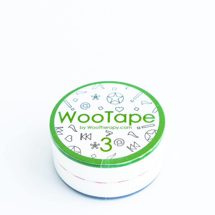 WooTape 3 single roll, top down image