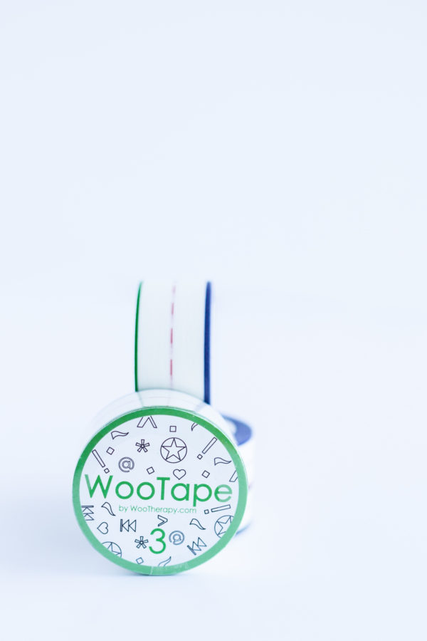 WooTape 3 grouped with other rolls, front image