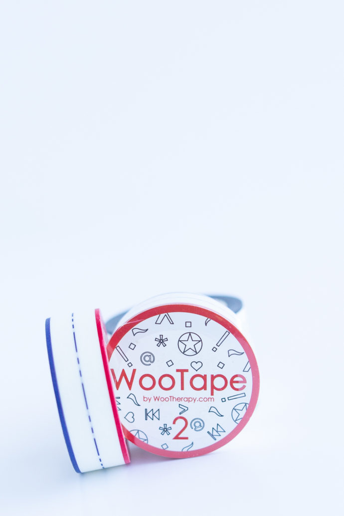 WooTape 2 grouped with other rolls, front image