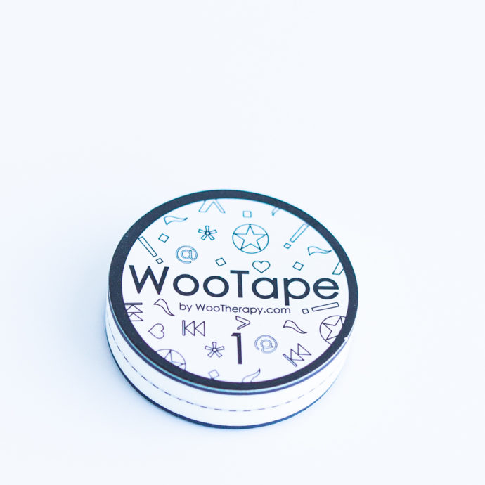 WooTape 1 single roll, top down image