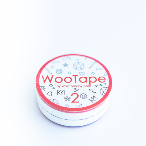 WooTape 2 single roll, top down image
